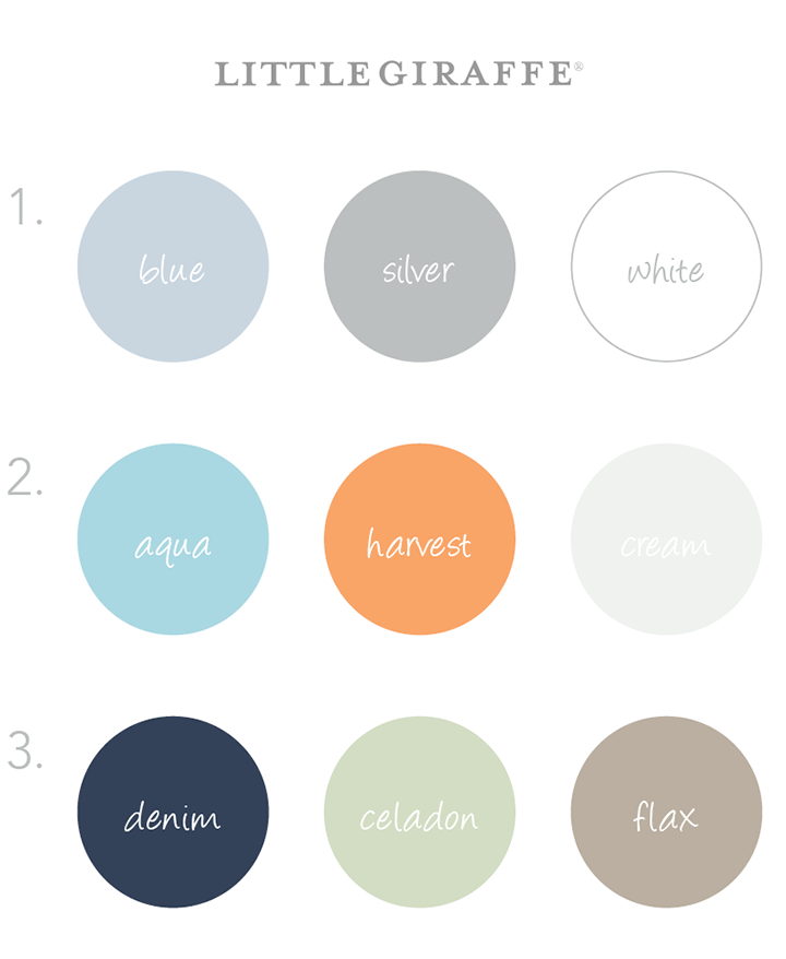 Color Schemes Baby Boy on nursery color schemes
