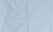 Bliss Cross Quilt :: Blue