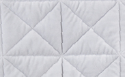 Bliss Cross Quilt :: Silver