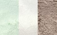 Celadon + Cream + Flax