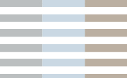 Stripe :: Silver + Blue + Flax