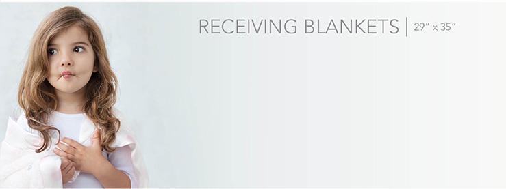 """Receiving Blankets (29"""" x 35"""")"""