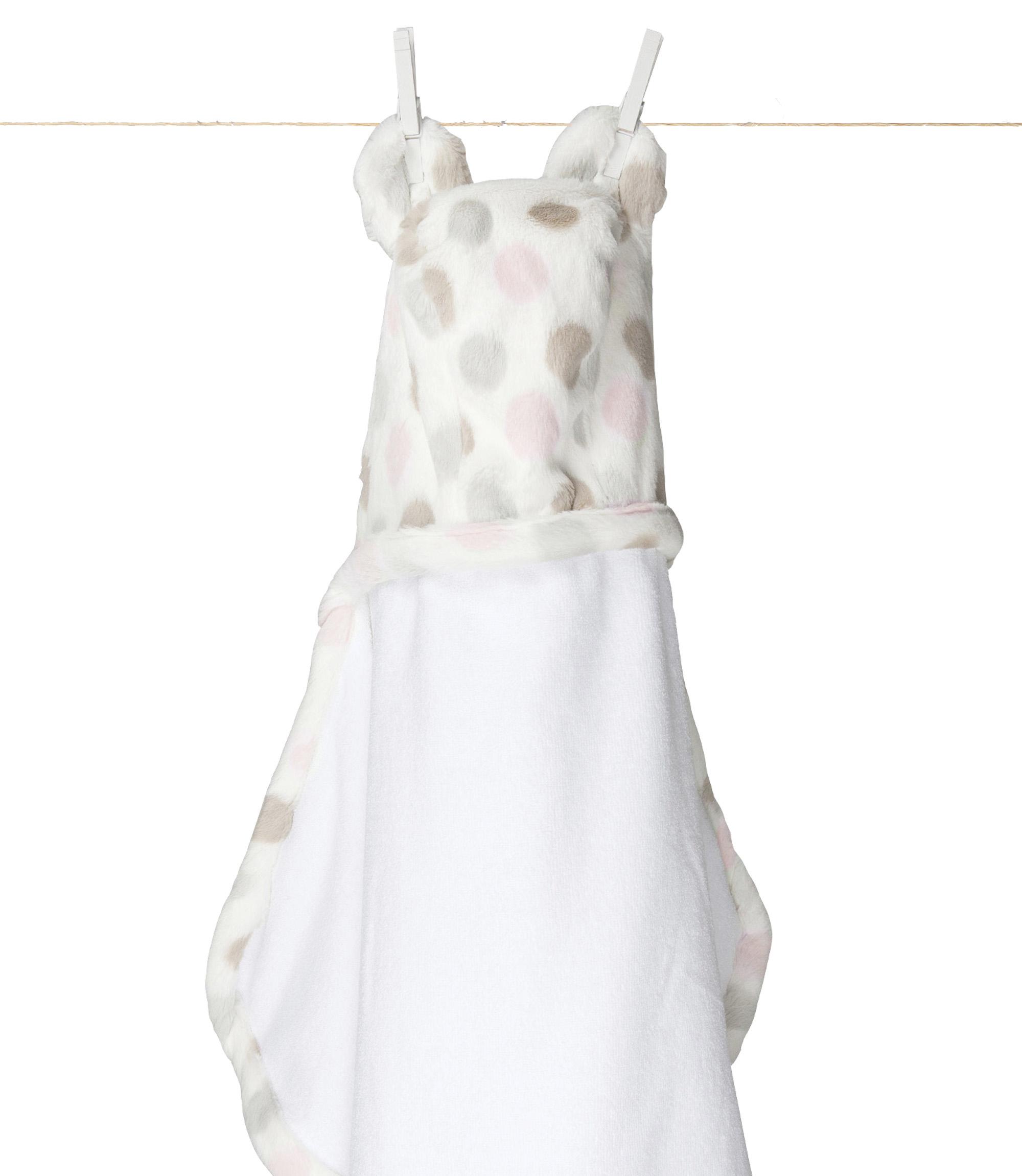 團購預告 Little Giraffe Luxe Dot Baby Blanket 豪華點點毯 安撫偶