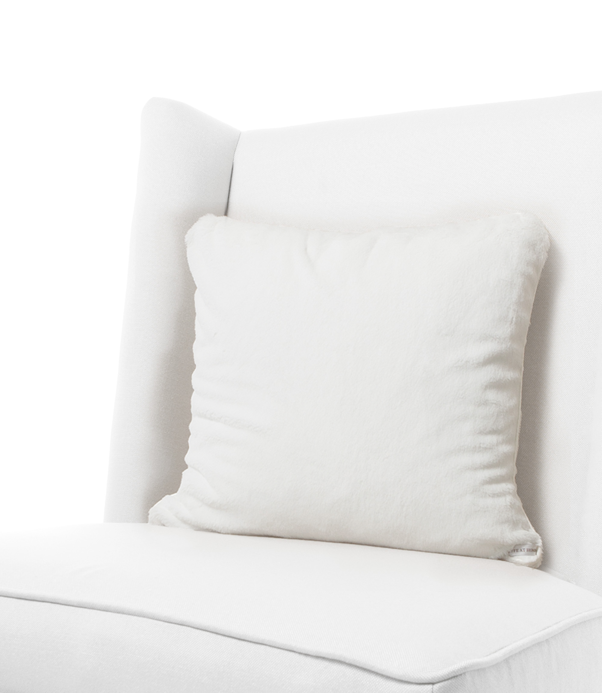 luxe - White Decorative Pillows