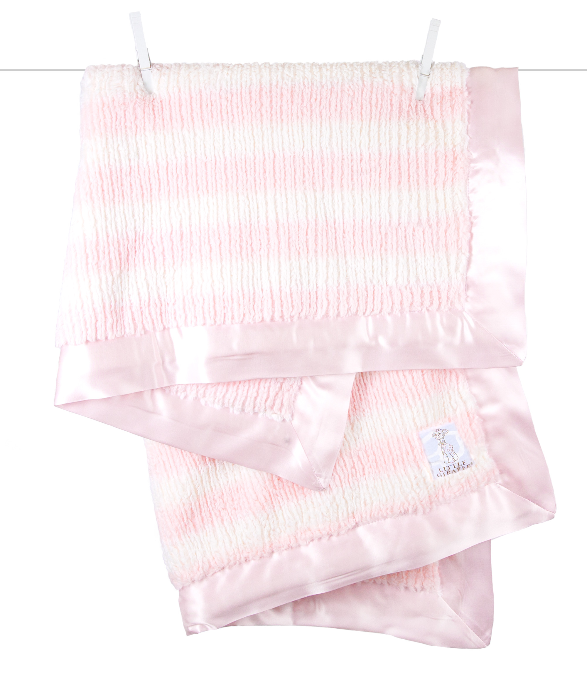 Luxe Rib Stripe Blanket Luxe