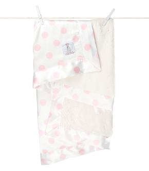 Luxe Cream Dot™ Baby Blanket