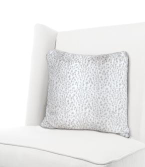 Luxe™ Snow Leopard Throw Pillow