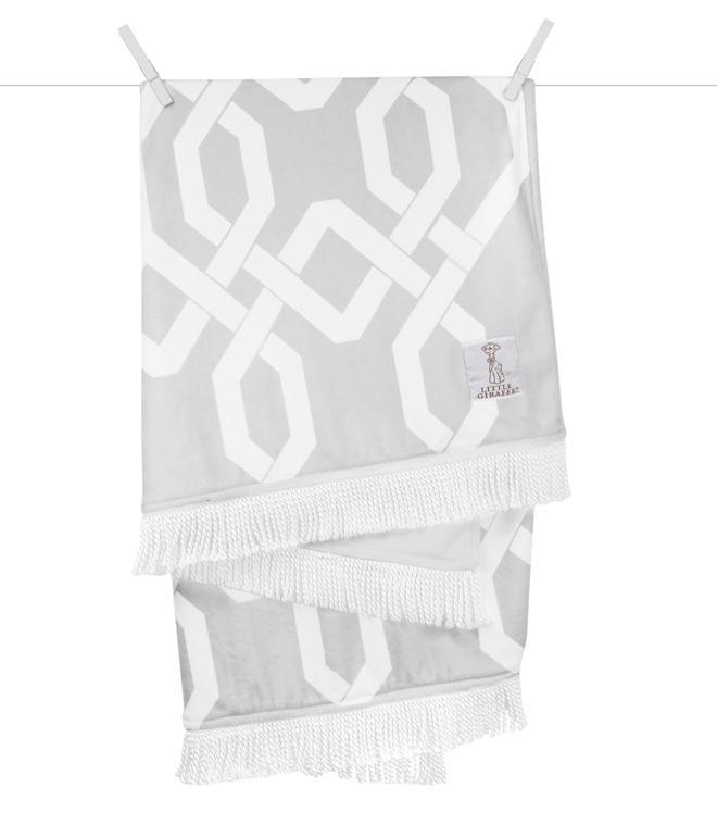 Bliss™ Windowpane Blanket