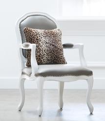 Luxe™ Leopard Throw Pillow
