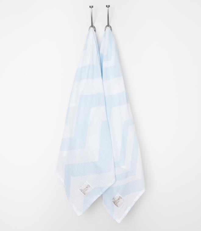 Muslin Chevron Swaddle Baby Blanket