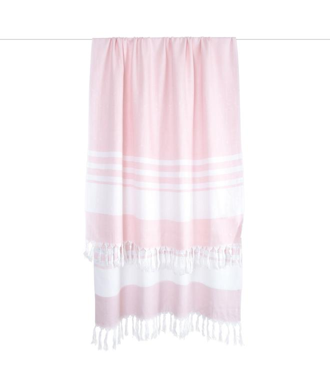 Indigo™ Turkish Towel Baby Blanket