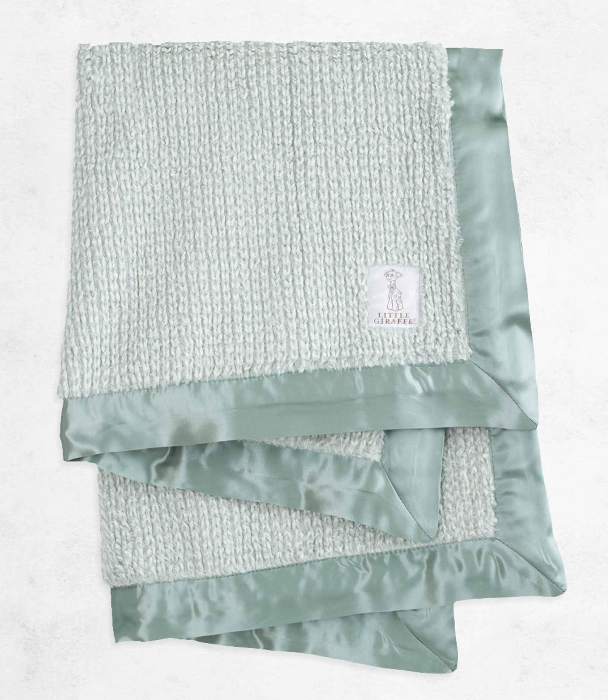 Luxe Herringbone Baby Blanket Baby Blankets