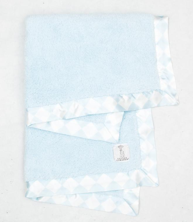 Chenille Argyle™ Baby Blanket