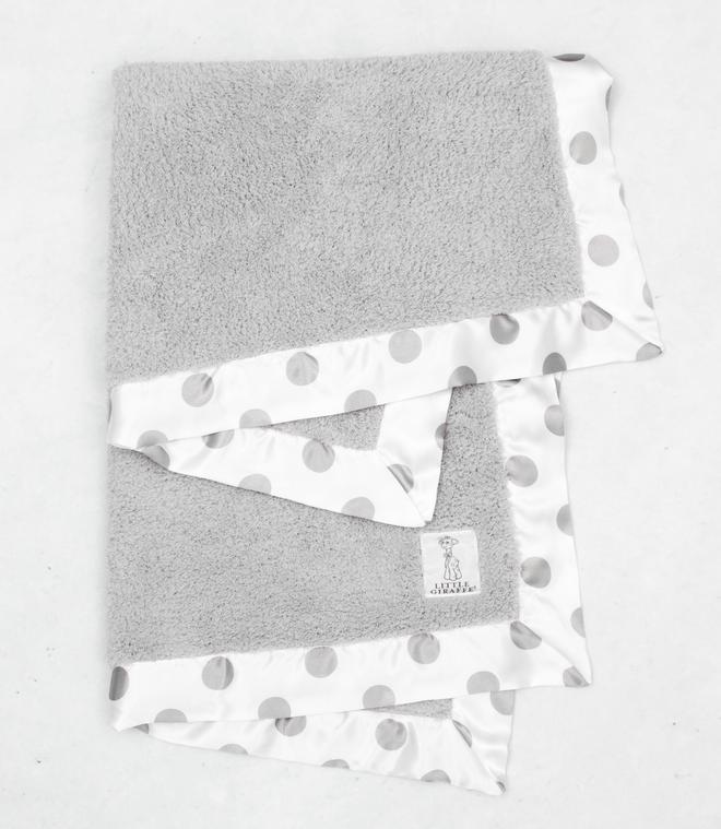 Chenille New Dot Baby Blanket
