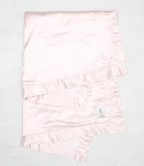 Chenille Satin Baby Blanket
