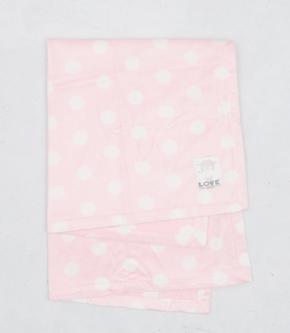 Silky Dot Baby Blanket