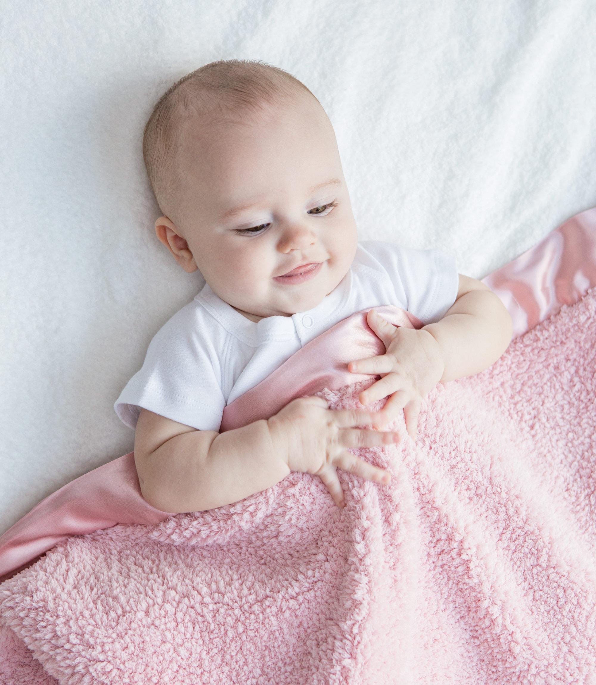 view larger chenille baby blanket - Chenille Blanket