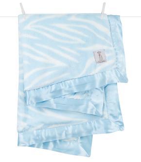 luxe zebra baby blanket