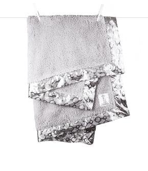 Chenille Lustre™ Matrix Baby Blanket