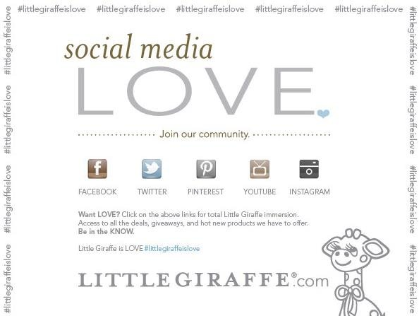 Little Giraffe Social Media
